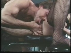 Bridgette Monet deep throat a guy with her darksome lingeries on