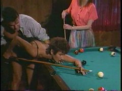 Pool table is big sufficiently to fuck 2