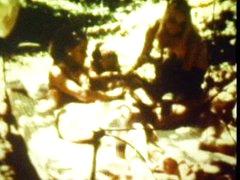 Classic outdoor trio scene