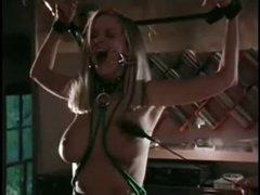 bondage, dildoing and breathtaking cum swallow